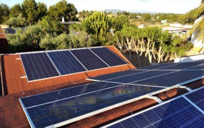 Instalación de placas solares en resorts