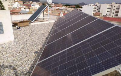 Instalación de paneles solares en PYMES