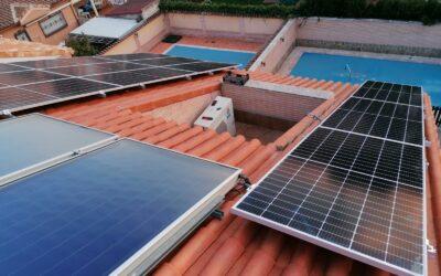 Instalación de paneles fotovoltaicos Urbi Solar de 5,5 KW de potencia en Humanes