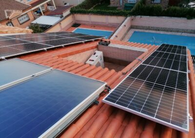 Instalación de paneles fotovoltaicos de Urbi Solar en Humanes