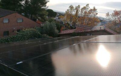Instalación de 4,8 KW de paneles LG Neón, los 'ferraris' del autoconsumo