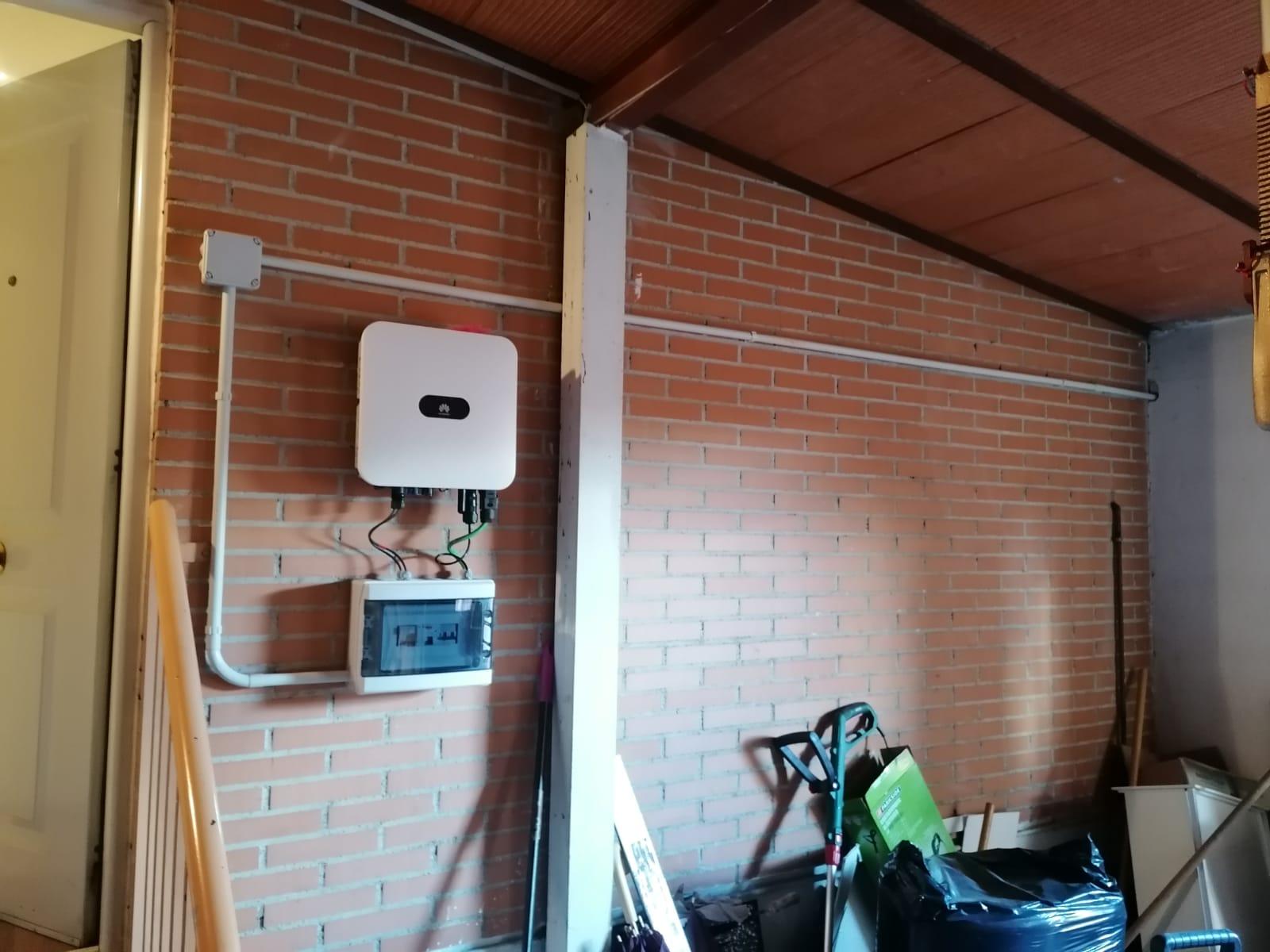 Instalación de paneles solares en Rivas Vaciamadrid