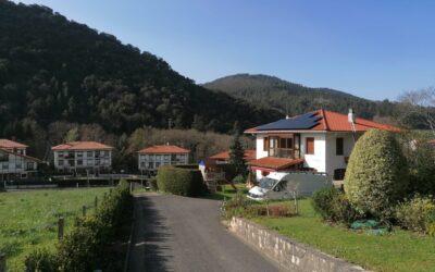 Instalación de energía solar en Busturia (Bilbao)