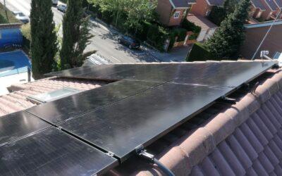 A por el verano: nueva instalación de 3.5 kw con paneles Sun Power en Rivas Vaciamadrid