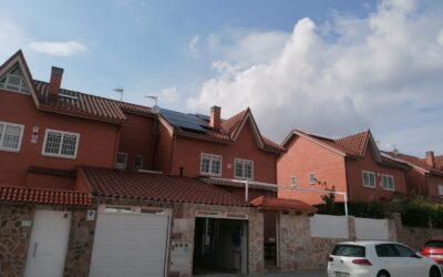 Otra familia con reducción de IBI en Rivas: instalación de placas solares de 4,5 kw