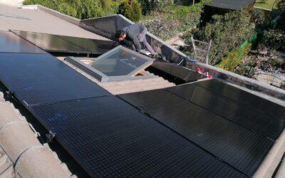 A por el ahorro: nueva instalación de paneles solares fotovoltaicos en Rivas Vaciamadrid