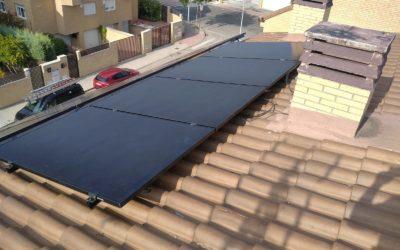 Instalación fotovoltaica en Villanueva de la Cañada